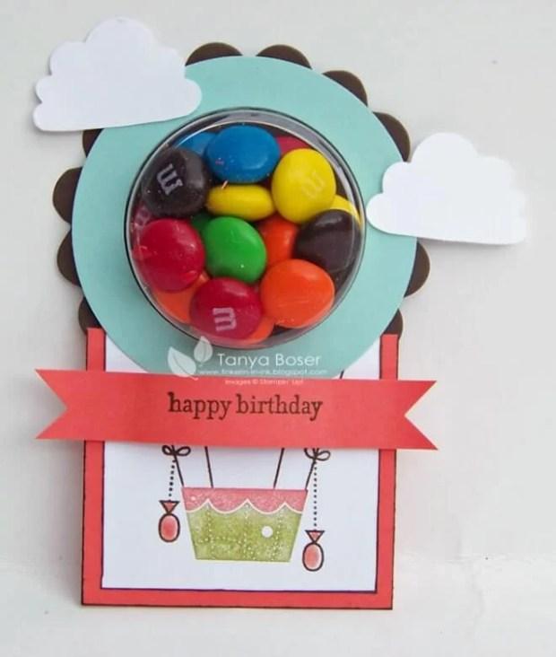 Hot Air Balloon Party Favor