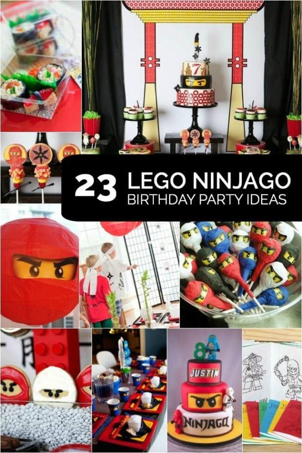 Lego Ninjago Birthday Party Ideas