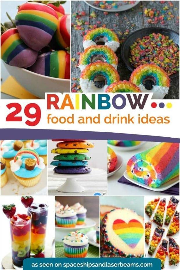 29 Rainbow Food and Drink Ideas