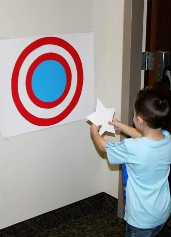 21 Captain America Pin the Star Party Ideas
