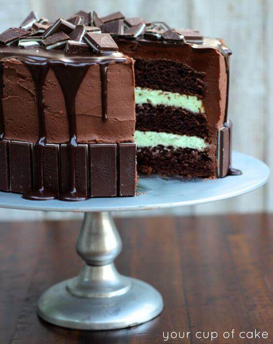 Andes Mint Cake