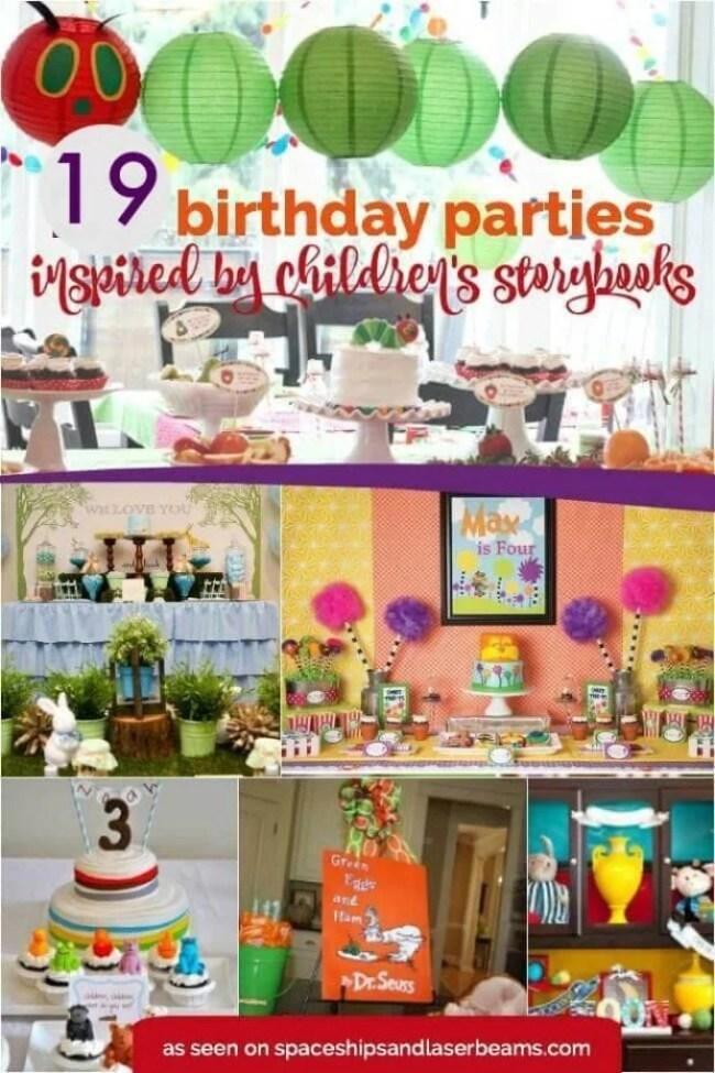 19 Birthday Parties Inspired by Children's Storybooks