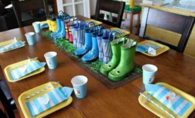 April Showers Birthday Party