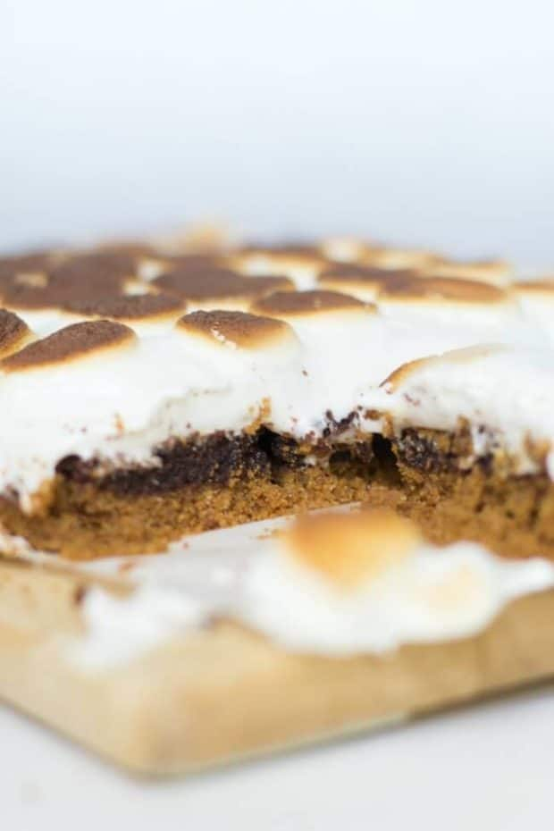 S'mores Brownie Bars Recipe