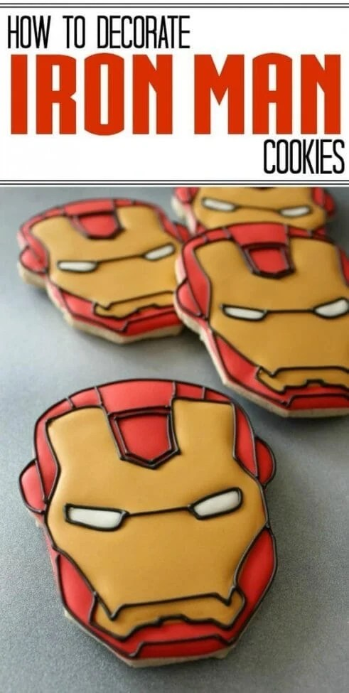 Iron Man Cookies