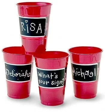 DIY personalized cups