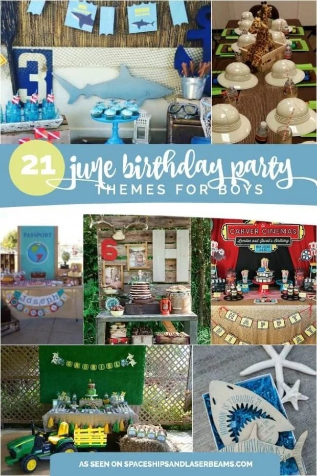 June Birthday Party Themes