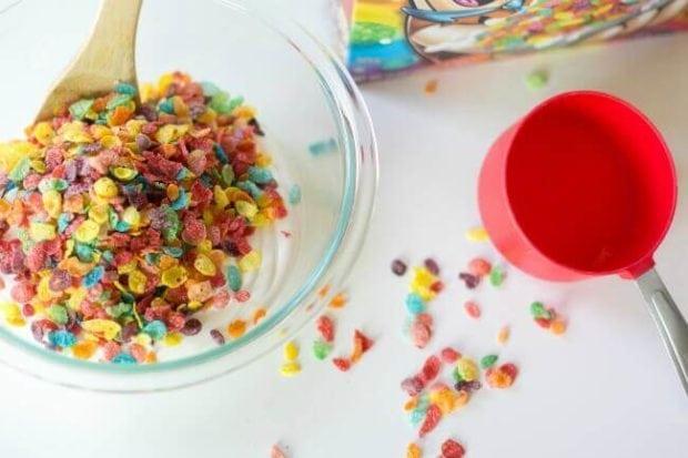 Fruity Pebbles Ice Cream