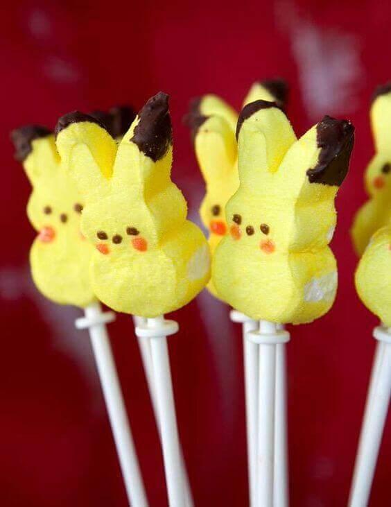 Pikachu Peeps