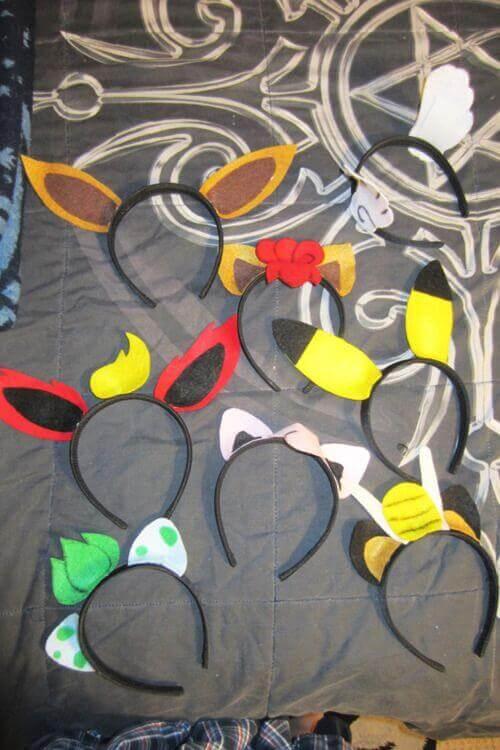 Pokemon Character Headbands