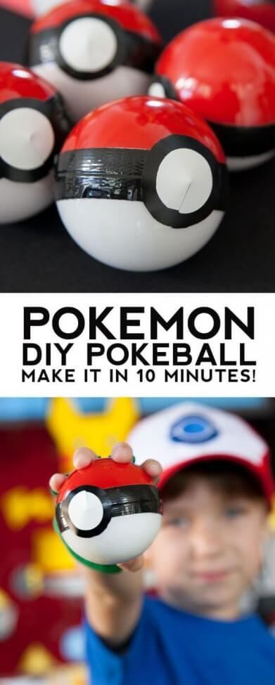DIY Pokemon Balls