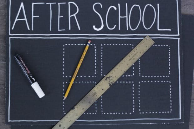 DIY After School Routine Chart