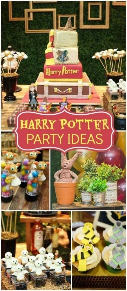 This Harry Potter Party is packed with inspirational ideas - treats and decor galore.