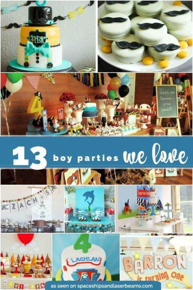13 Boy Parties We Love