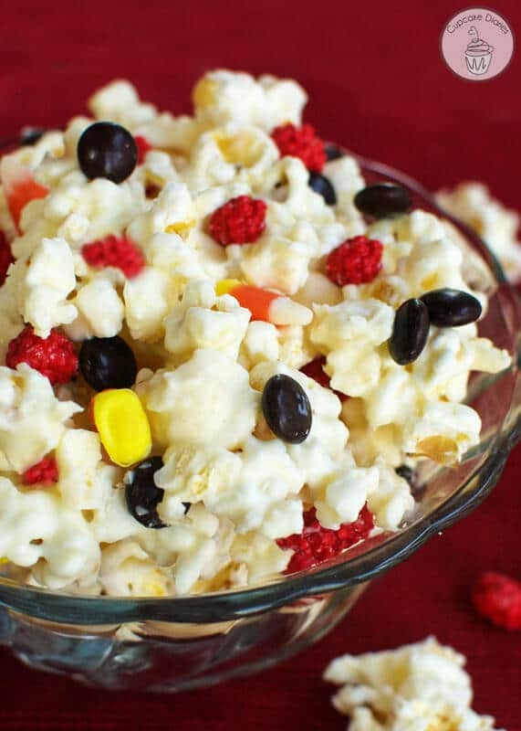 Let guests at your Harry Potter show their pride in their new Hogwarts house with this tasty Gryffindor Popcorn
