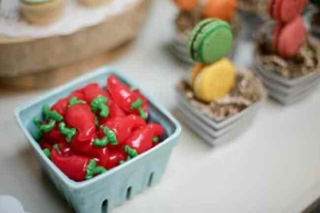 Dragons Love Tacos Birthday party candy treats