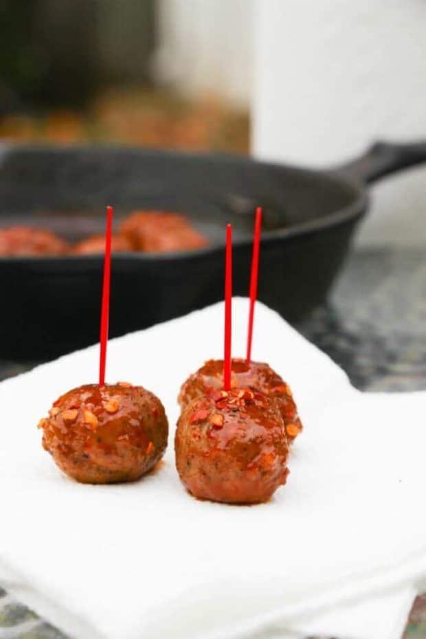 Easy Buffalo Meatball Appetizer Recipe