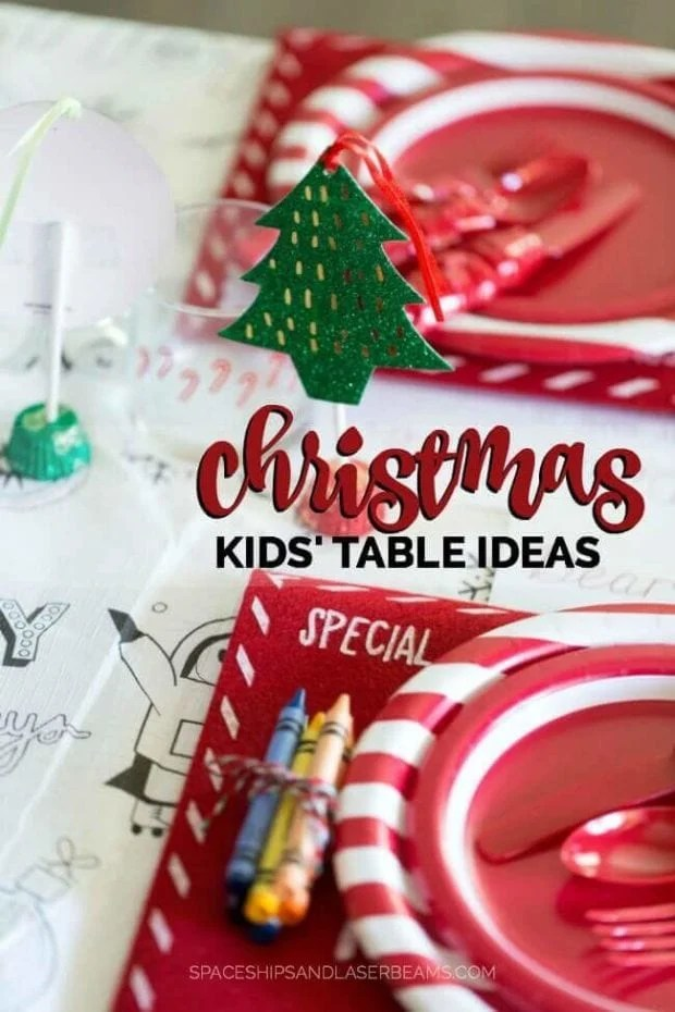 Christmas Kid's Table Ideas