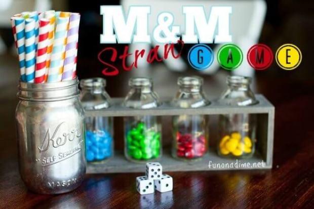 M&M Straw Game