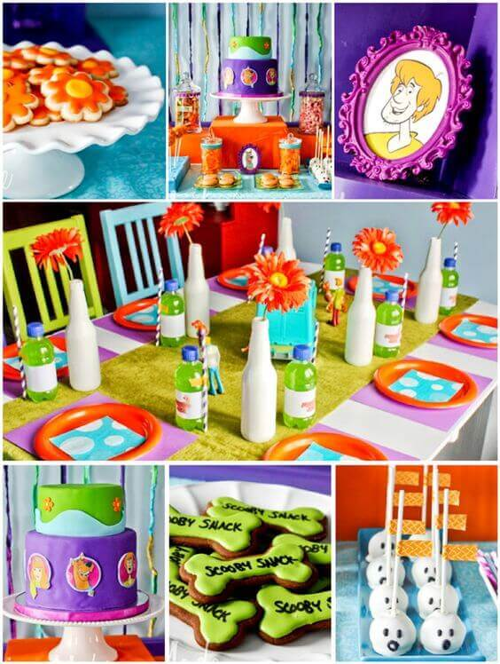 A Scooby Doo Inspired Birthday Party