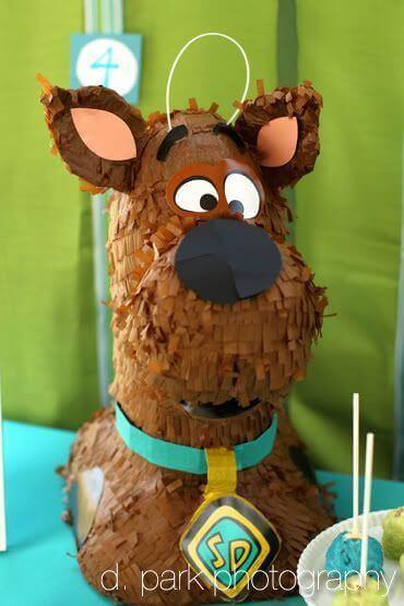 DIY Scooby Doo Pinata