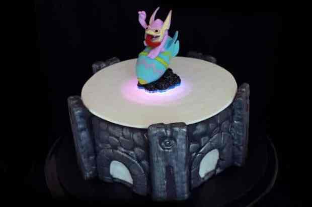 Light Up Portal of Power Cake
