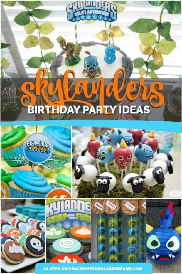 17 Rad Skylanders Birthday Party Ideas Spaceships And Laser Beams