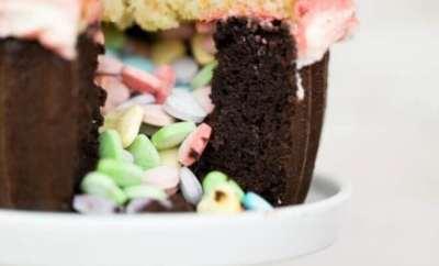 Cupcake Pinata Cake