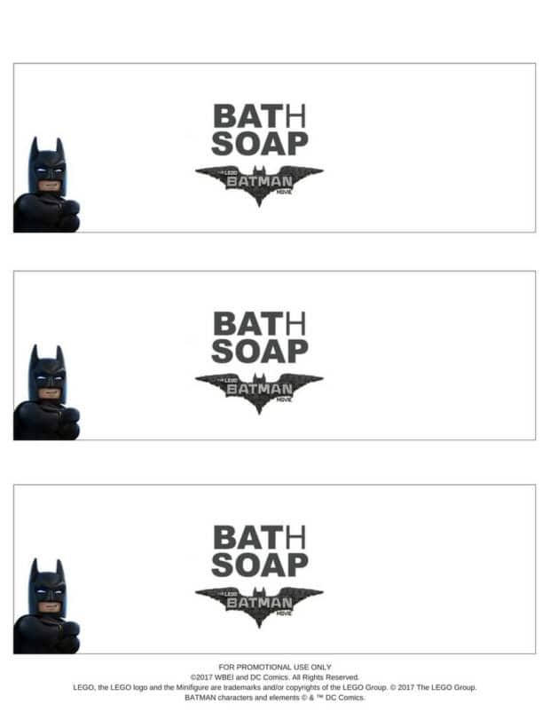 Free LEGO Batman Printable