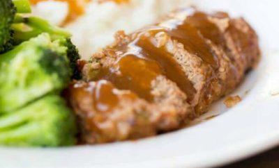 Easy Dinner Ideas: Meatloaf, Parmesan Mashed Potatoes + Lemon Garlic Broccoli