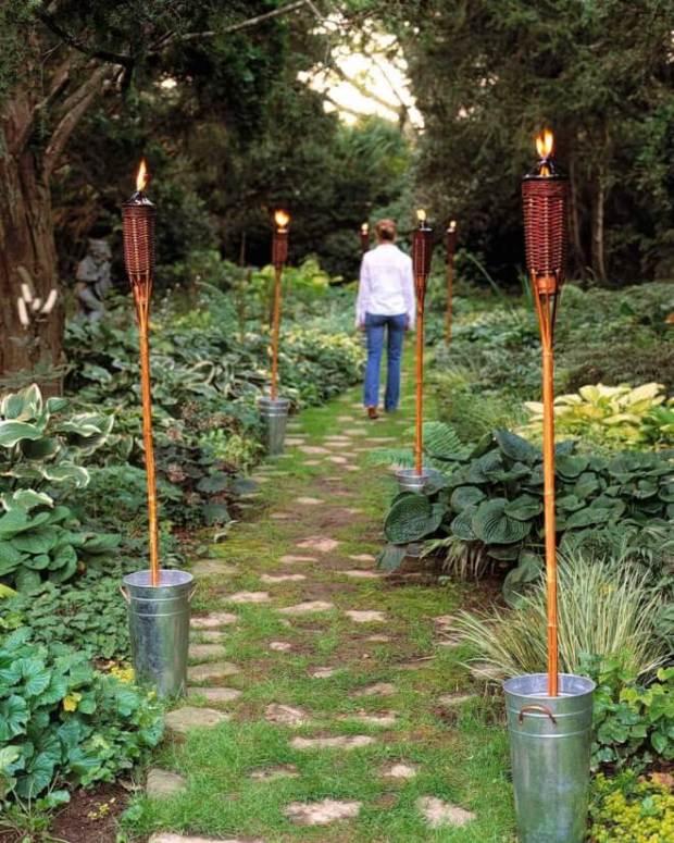 Tiki Torch Lighting