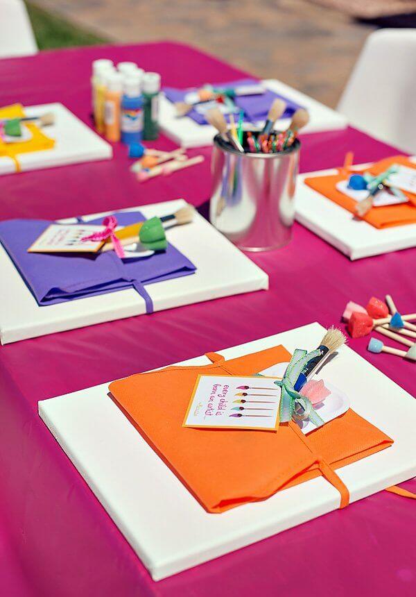 Paint Party Favors