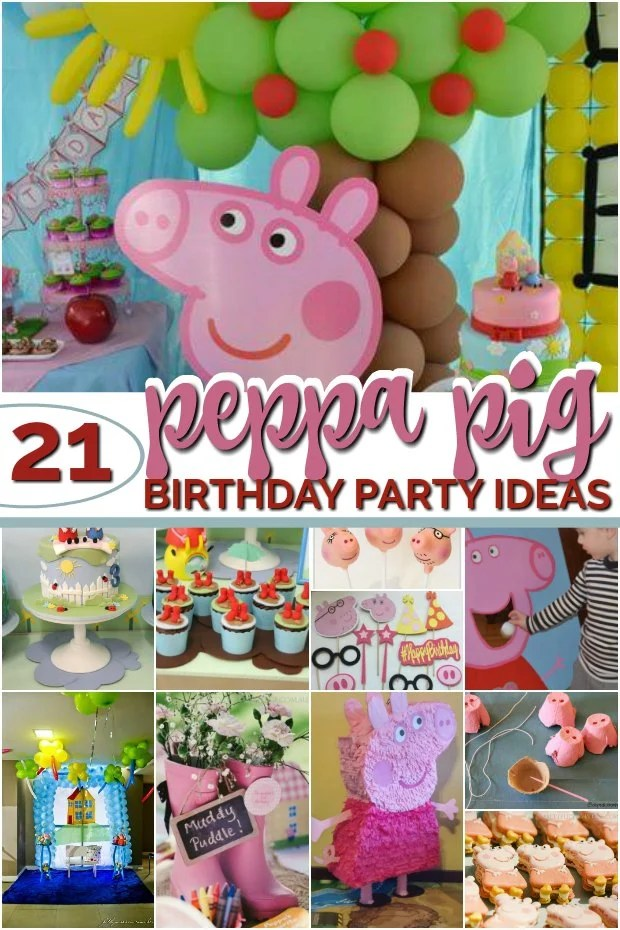 21 Fabulous Peppa Pig Party Ideas Spaceships And Laser Beams