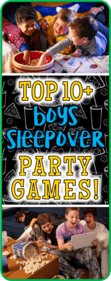Boys Sleepover Party Games