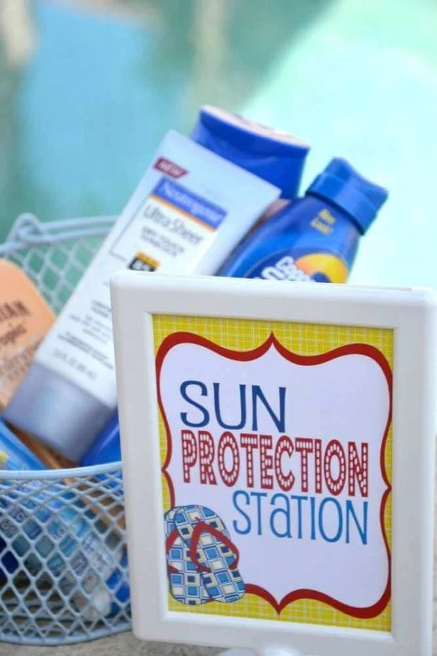 Sun Protection Station