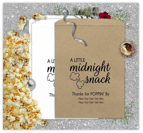 Midnight Snack Popcorn Bags