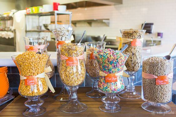 Slumber Party Cereal Bar