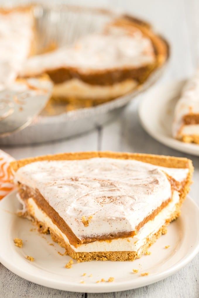 Best Ever No Bake Pumpkin Pie