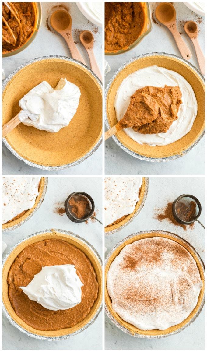 How to Make a No Bake Pumpkin Pie