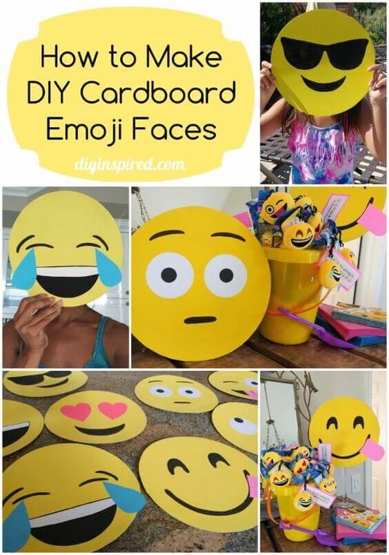 diy emoji masks