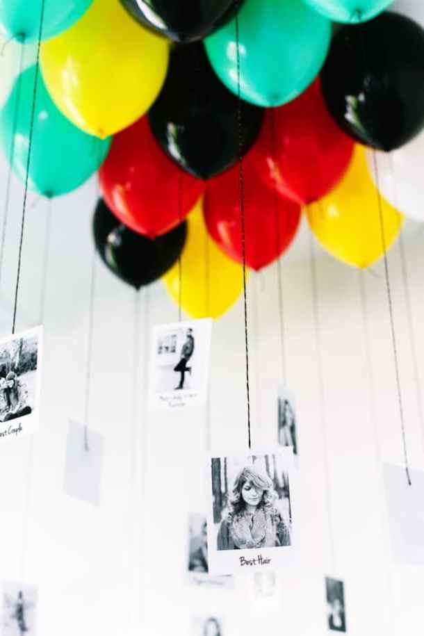DIY Graduation Balloons by Studio DIY | 19 Graduation Party Decoration Ideas