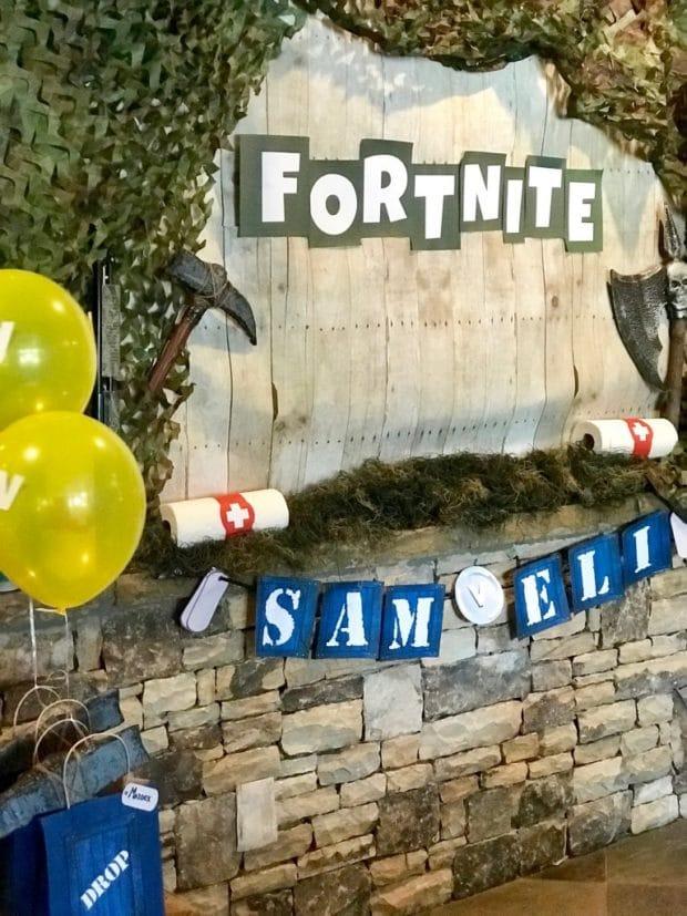 Fortnite Birthday Party Decorations