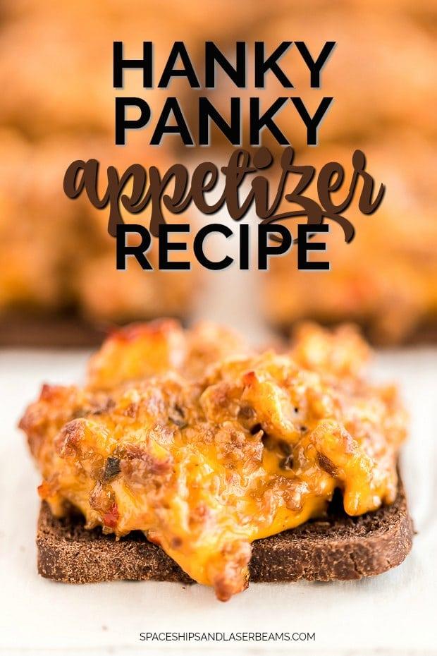 one hanky panky appetizer