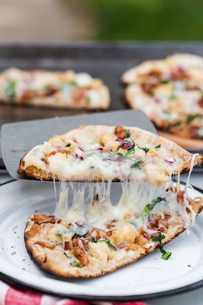 Cheesy Campfire Pizza