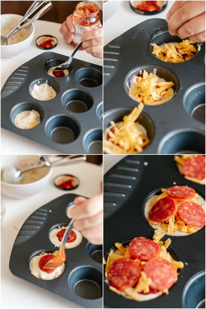 How to Make Pizza Muffins