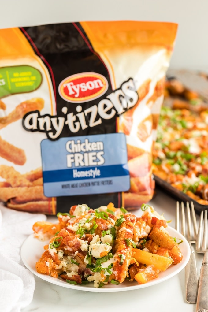 Buffalo Chicken Fries Recipe