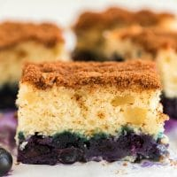 Easy Recipe for Blueberry Coffee Cake