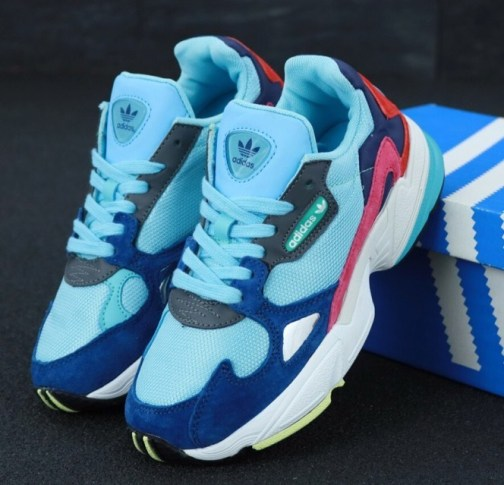 Adidas Falcon Clear Mint Collegiate Navy