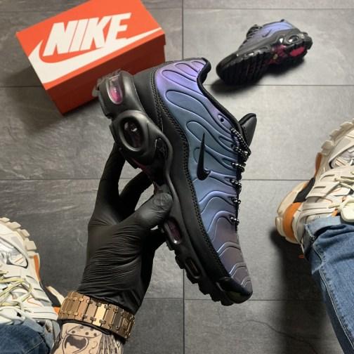 Мужские кроссовки Nike Air Max TN Blue Violet Black (Фиолетовый Синий) • Space Shop UA