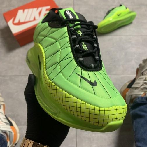 Кроссовки зимние мужские Nike Air Max 720-818 Toxic Green • Space Shop UA